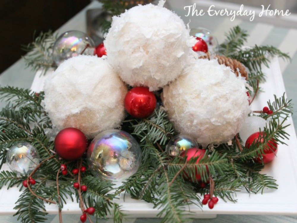 how to make fluffy decoration balls