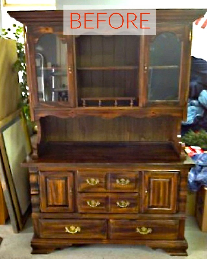 8 Hutch Makeovers We Can 39 T Stop Looking At Hometalk