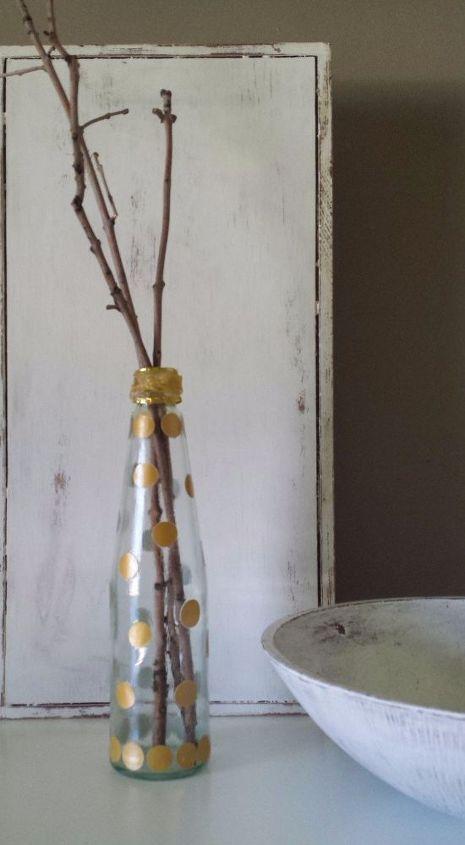 repurposed sauce bottle diy, crafts, decoupage