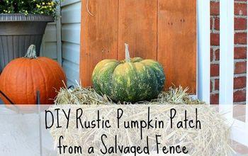 DIY Rustic Pumpkin Patch