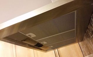 diy no rub magic cleaner degreaser for your kitchen hood, cleaning tips, kitchen design, Who d have thought cleaning the hood was easy