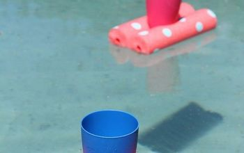 Easy DIY: Floating Drinks Holder