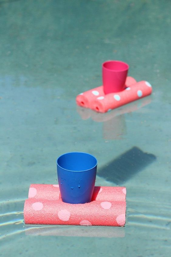 easy diy floating drinks holder, crafts, how to, repurposing upcycling