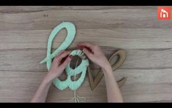 Wall Art From Yarn and Cardboard - Video Tutorial