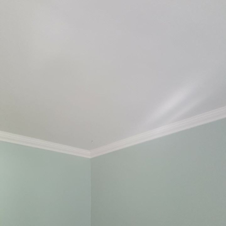 Dining Room Project Remove Popcorn Ceiling Home Improvement How To Painting Wall
