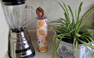 make your own grocery bag dispenser, countertops, home decor, seasonal holiday decor