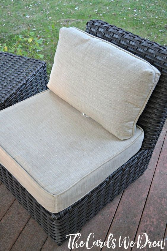How To Clean Your Patio Cushions Easily Cleaning Tips Outdoor Furniture
