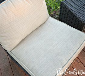 How To Clean Your Patio Cushions Easily, Cleaning Tips, How To, Outdoor  Furniture
