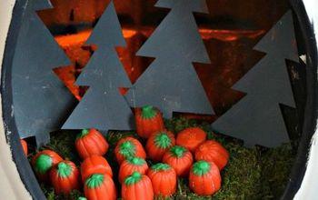 Pumpkin Patch Diorama