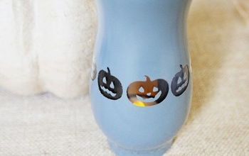Pumpkin Halloween Vase (with Spray Paint!)