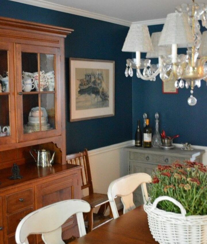 my rainstorm dining room, dining room ideas, foyer, home decor, outdoor living, painted furniture, painting, reupholster, window treatments