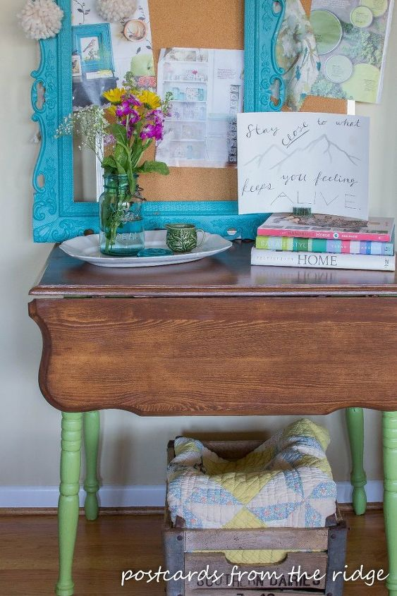 Old Night Stand Makeover