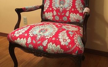 Reupholstering  of a Classic Bergere Chair