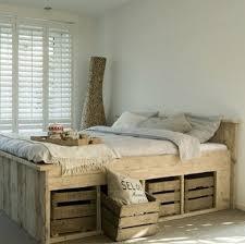 wooden pallet bed frame hometalk - Wooden Pallet Bed Frame