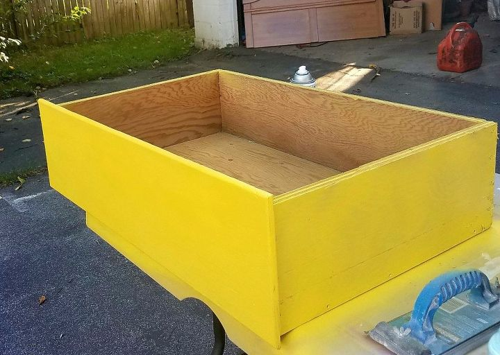 whimsical raised planters upcycled from curbside drawers, gardening