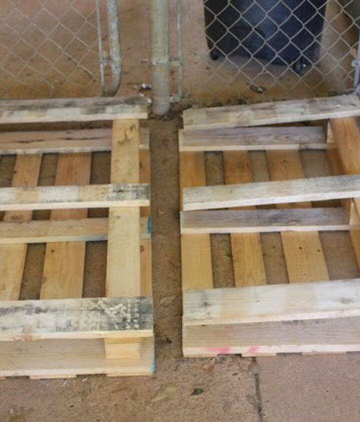 diy pallet furniture, outdoor furniture, painted furniture, pallet