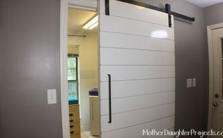 how to build and install a barn door, doors, how to, outdoor living