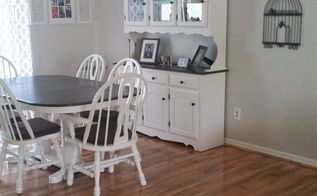 from bland to chic, dining room ideas, painted furniture