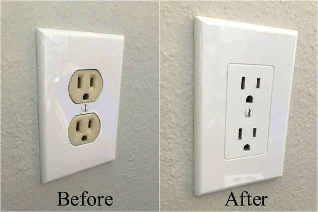 Easy electrical outlet cover tip hometalk for Home decor outlet 63125