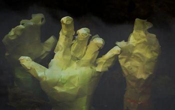 Craft Creepy Mummy Hands for Just $1