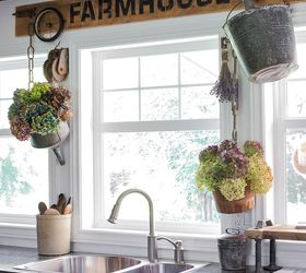 Going Farmhouse With A Funky Patio Table And Kitchen Window Valance,  Crafts, Kitchen Design