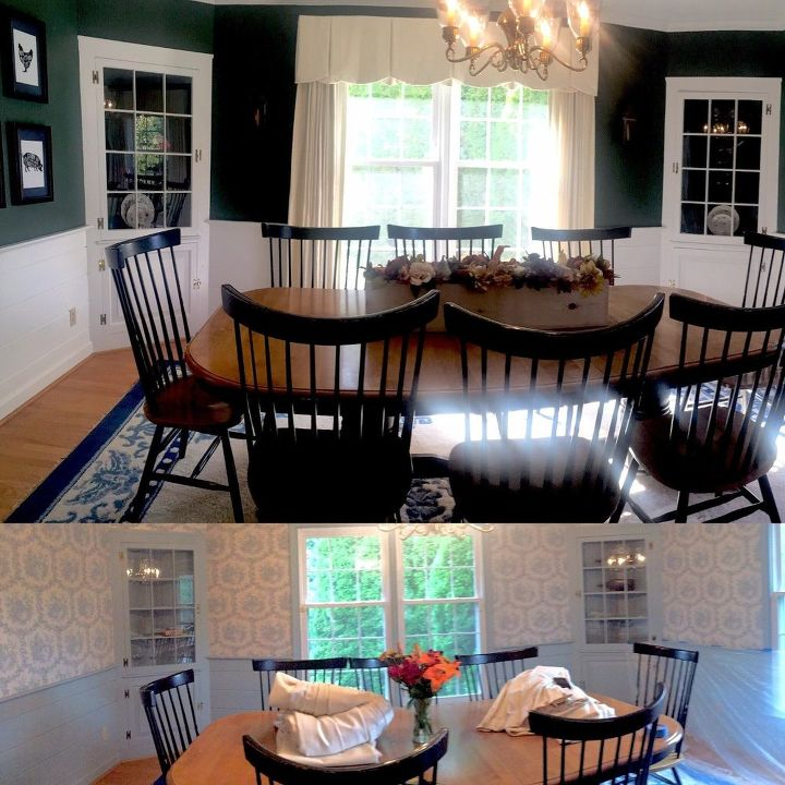 A New Homeowner Wanted To Brighten Up Her Dining Room So Look What Inspiration Colonial Dining Room Furniture
