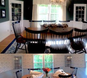 Modern Colonial Dining Room, Dining Room Ideas, Painting