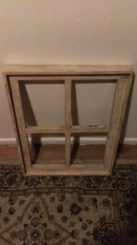 q wooden frame, repurpose windows