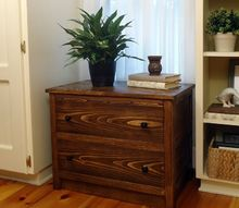 air conditioner dresser a wood cozy for your a c , hvac, painted furniture, woodworking projects
