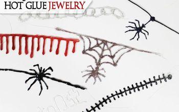 Creepy Hot Glue Jewelry