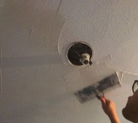 How To Remove Popcorn Ceiling, How To, Wall Decor