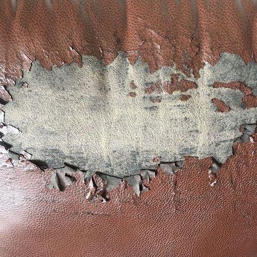 Peeling Faux Leather Chair Hometalk