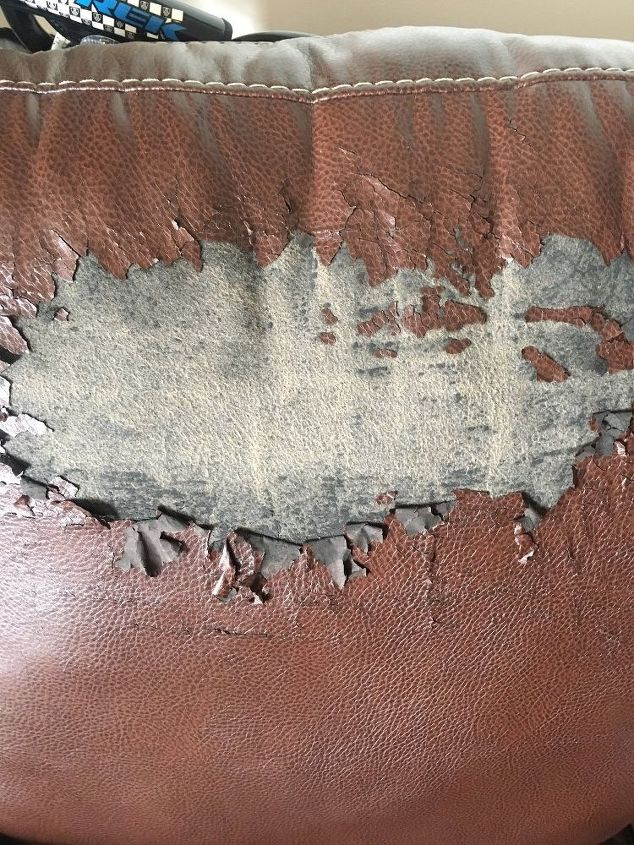 Peeling Faux Leather Chair Hometalk