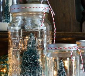 Christmas Craft Project Ideas Part - 36: Create Mini Snowglobes With Tiny Trees