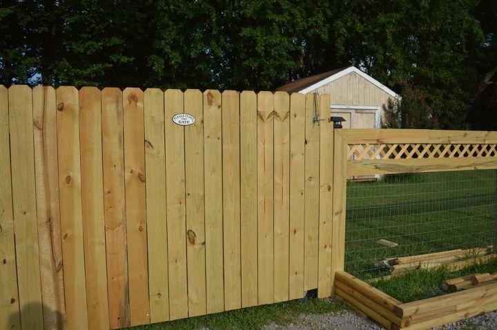 fancy fence, fences