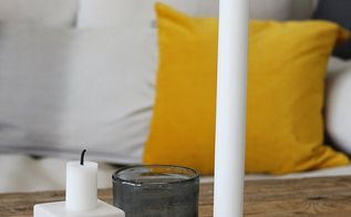 diy wooden candle holder, crafts, home decor, how to