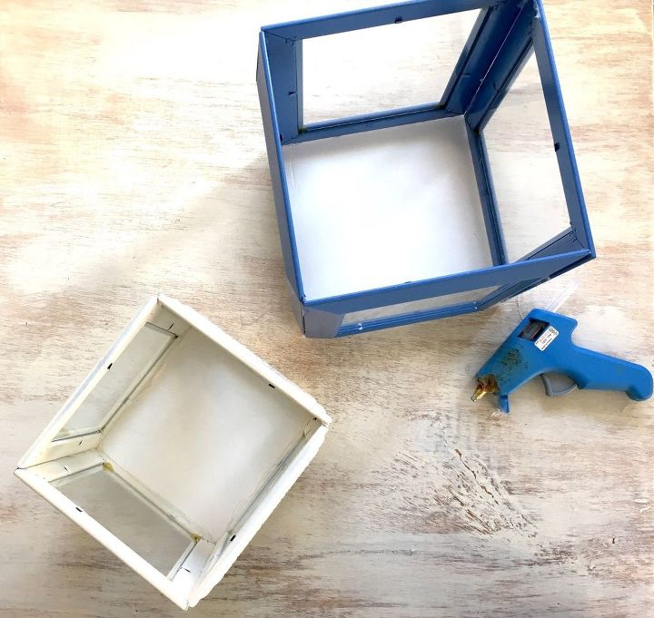 lanterns made from dollar tree frames outdoor living - Dollar Picture Frames