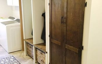 DIY Laundry / Mudroom Makeover