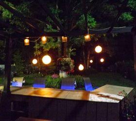 Bon Hanging Garden Lights, Bathroom Ideas, Countertops, Home Decor, Lighting,  Repurposing Upcycling