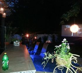 Hanging Garden Lights, Bathroom Ideas, Countertops, Home Decor, Lighting,  Repurposing Upcycling