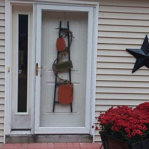 metal awning for front door tutorial hometalk