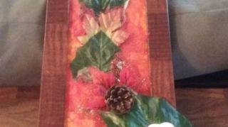 , My daughter April s Autumn Wall Hanging She loves it