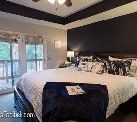 Beau Navy And Gray Master Bedroom Design, Bedroom Ideas, Home Decor