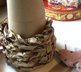 Make A Rustic Christmas Decor With Recycled Paper Bags And A Box , Christmas  Decorations,