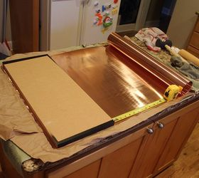 Copper Shelves In The Kitchen, Kitchen Design, Shelving Ideas
