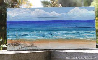 diy outdoor art , crafts