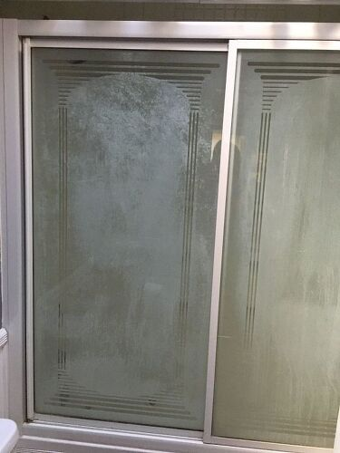 How do i clean shower glass doors hometalk planetlyrics Gallery