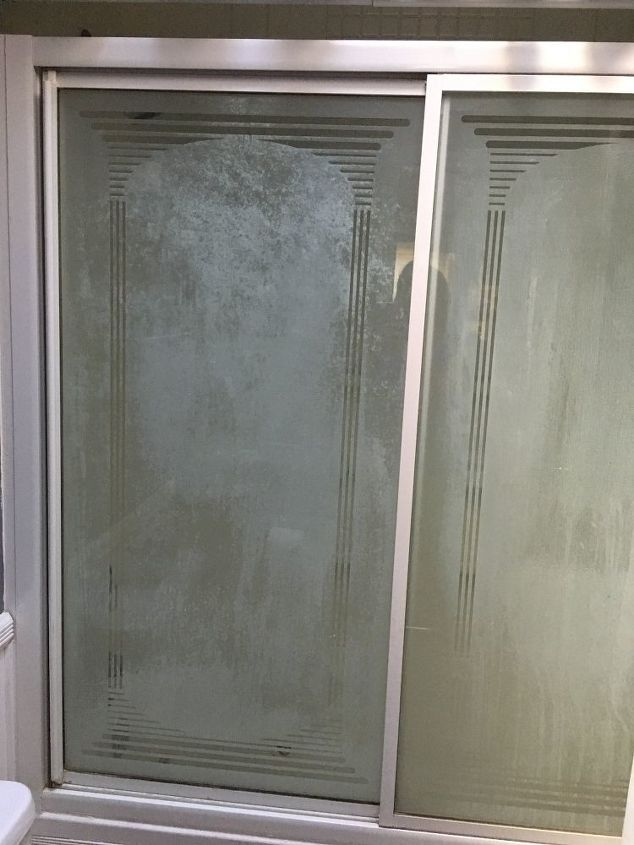 How Do I Clean Shower Gl Doors Hometalk
