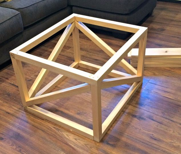diy coffee table, basement ideas, living room ideas, painted furniture,  rustic furniture