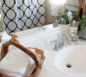Diy Mirror Frame Kit Simple Bathroom Decor, Bathroom Ideas, Home Decor